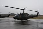 いっとくさんが、岐阜基地で撮影した陸上自衛隊 UH-1Jの航空フォト(写真)