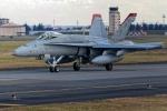 多摩川崎2Kさんが、横田基地で撮影したアメリカ海兵隊 F/A-18C Hornetの航空フォト(写真)