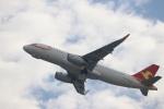 つっさんさんが、関西国際空港で撮影した天津航空 A320-232の航空フォト(写真)