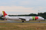 安芸あすかさんが、フランクフルト国際空港で撮影したTAPポルトガル航空 A321-211の航空フォト(写真)
