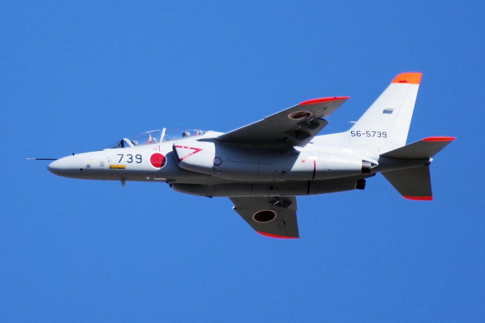 yabyanさんの航空自衛隊 Kawasaki T-4 (56-5739) 航空フォト