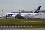 sepia2016さんが、成田国際空港で撮影したLOTポーランド航空 787-8 Dreamlinerの航空フォト(写真)
