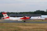 安芸あすかさんが、フランクフルト国際空港で撮影したオーストリア航空 DHC-8-402Q Dash 8の航空フォト(写真)