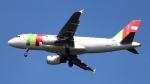 誘喜さんが、フランクフルト国際空港で撮影したTAPポルトガル航空 A319-111の航空フォト(写真)
