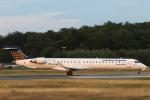 安芸あすかさんが、フランクフルト国際空港で撮影したルフトハンザ・シティライン CL-600-2D24 Regional Jet CRJ-900LRの航空フォト(写真)