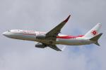 安芸あすかさんが、パリ オルリー空港で撮影したアルジェリア航空 737-8D6の航空フォト(写真)