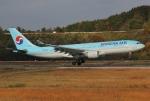 だいまる。さんが、岡山空港で撮影した大韓航空 A330-223の航空フォト(写真)