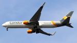 誘喜さんが、フランクフルト国際空港で撮影したコンドル 767-330/ERの航空フォト(写真)