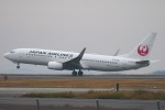 撮り撮り人さんが、岡山空港で撮影した日本航空 737-846の航空フォト(写真)