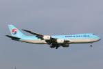 OS52さんが、成田国際空港で撮影した大韓航空 747-8B5F/SCDの航空フォト(写真)