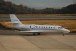 ケロさんが、岡山空港で撮影したノエビア 680 Citation Sovereignの航空フォト(写真)