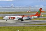 kix-boobyさんが、関西国際空港で撮影したティーウェイ航空 737-8HXの航空フォト(写真)
