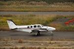 Saeqeh172さんが、岡南飛行場で撮影した岡山航空 G58 Baronの航空フォト(写真)