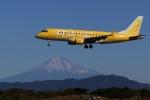 どらいすたーさんが、静岡空港で撮影したフジドリームエアラインズ ERJ-170-200 (ERJ-175STD)の航空フォト(写真)