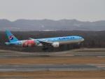 kenmeiさんが、新千歳空港で撮影した大韓航空 777-3B5/ERの航空フォト(写真)