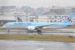 シュウさんが、福岡空港で撮影した大韓航空 787-9の航空フォト(写真)