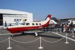 青春の1ページさんが、神戸空港で撮影した日本法人所有 PA-46-350P Malibu Mirageの航空フォト(写真)