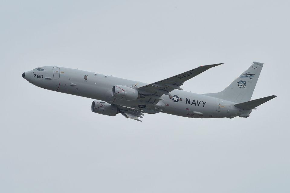 うめやしきさんのアメリカ海軍 Boeing 737-800 (168760) 航空フォト
