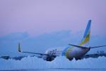 Ruuuuさんが、帯広空港で撮影したAIR DO 737-781の航空フォト(写真)