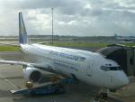 ITM44さんが、アムステルダム・スキポール国際空港で撮影したウクライナ国際航空 737-8Q8の航空フォト(写真)