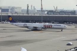 DBACKさんが、羽田空港で撮影したルフトハンザドイツ航空 A340-642Xの航空フォト(写真)