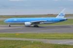 amagoさんが、関西国際空港で撮影したKLMオランダ航空 777-206/ERの航空フォト(写真)