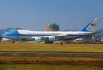 りんたろうさんが、横田基地で撮影したアメリカ空軍 VC-25A (747-2G4B)の航空フォト(写真)