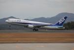 だいまる。さんが、広島空港で撮影した全日空 767-381の航空フォト(写真)