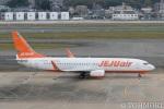 遠森一郎さんが、福岡空港で撮影したチェジュ航空 737-8ASの航空フォト(写真)