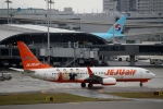ハピネスさんが、関西国際空港で撮影したチェジュ航空 737-8ASの航空フォト(写真)