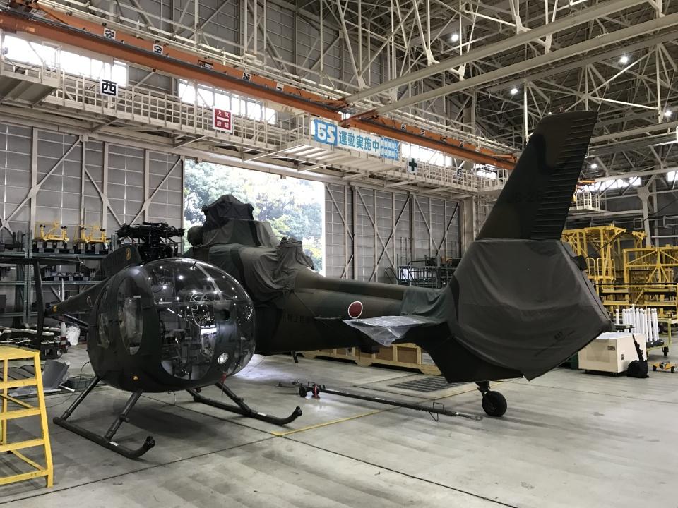 ヨッちゃんさんの陸上自衛隊 Kawasaki OH-1 (32637) 航空フォト