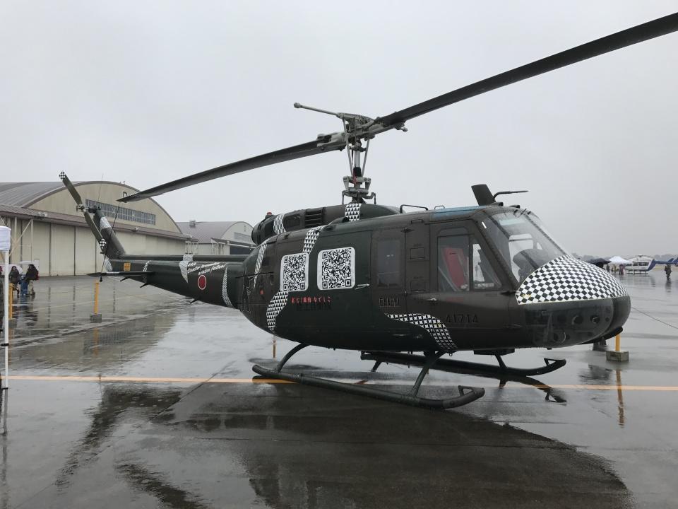 ヨッちゃんさんの陸上自衛隊 Fuji UH-1H (41714) 航空フォト