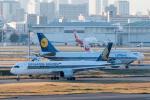たかしさんが、羽田空港で撮影したルフトハンザドイツ航空 747-830の航空フォト(写真)