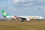 keks34さんが、福岡空港で撮影したエバー航空 A330-302Xの航空フォト(写真)