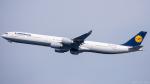 ぱん_くまさんが、羽田空港で撮影したルフトハンザドイツ航空 A340-642の航空フォト(写真)