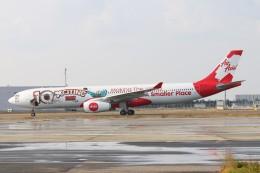 青春の1ページさんが、関西国際空港で撮影したエアアジア・エックス A330-343Xの航空フォト(写真)