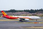 ぱん_くまさんが、成田国際空港で撮影した香港航空 A330-343Xの航空フォト(写真)