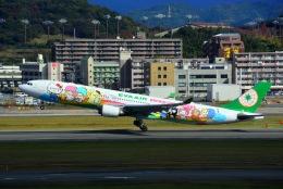 HISAHIさんが、福岡空港で撮影したエバー航空 A330-302Xの航空フォト(写真)