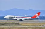 kix-boobyさんが、関西国際空港で撮影したカーゴルクス 747-271C/SCDの航空フォト(写真)