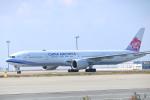 水月さんが、関西国際空港で撮影したチャイナエアライン 777-309/ERの航空フォト(写真)