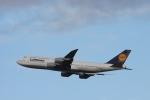 Maestroさんが、羽田空港で撮影したルフトハンザドイツ航空 747-830の航空フォト(写真)