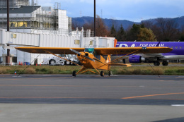 Nao0407さんが、松本空港で撮影した日本法人所有 PA-18-150 Super Cubの航空フォト(写真)