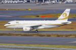 PASSENGERさんが、羽田空港で撮影したリライアンス・インダストリーズ A319-115CJの航空フォト(写真)
