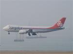 goshiさんが、香港国際空港で撮影したカーゴルクス 747-8R7F/SCDの航空フォト(写真)