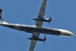 Orange linerさんが、成田国際空港で撮影したオーロラ DHC-8-402Q Dash 8の航空フォト(写真)