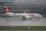 pringlesさんが、チューリッヒ空港で撮影したスイスインターナショナルエアラインズ BD-500-1A10 CSeries CS100の航空フォト(写真)