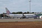 はるさんが、山口宇部空港で撮影したチャイナエアライン 737-809の航空フォト(写真)