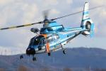 やまけんさんが、松本空港で撮影した長野県警察 AS365N3 Dauphin 2の航空フォト(写真)