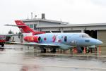 なごやんさんが、新潟空港で撮影した航空自衛隊 U-125A(Hawker 800)の航空フォト(写真)