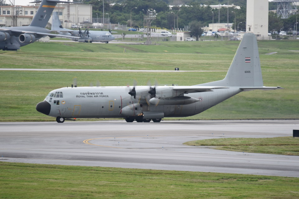 kumagorouさんのタイ王国空軍 Lockheed C-130 Hercules (60105) 航空フォト
